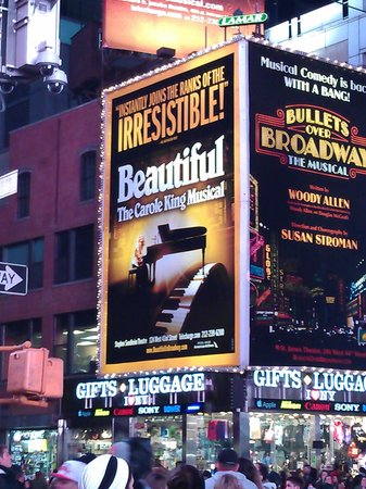 "Beautiful -  The Carole King Musical: NYC sights & sounds - going to the ""Beautiful"" musical was one of our highlights."