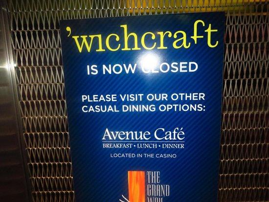 Wichcraft has closed