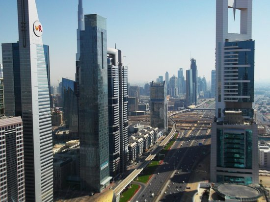 Four Points by Sheraton Sheikh Zayed Road, Dubai : Depuis le top