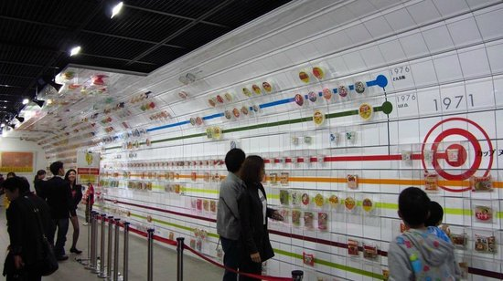 CUPNOODLES MUSEUM OSAKA IKEDA : The history of ramens.