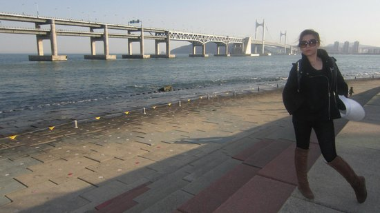 Gwangandaegyo Bridge: in busan...just i-park & the bridge...the 1 & only for me...nothing else...