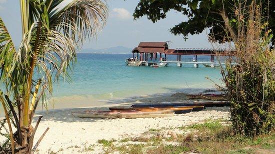 Kapas Island Resort : beach front