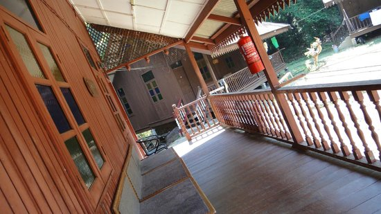 Kapas Island Resort: balcony