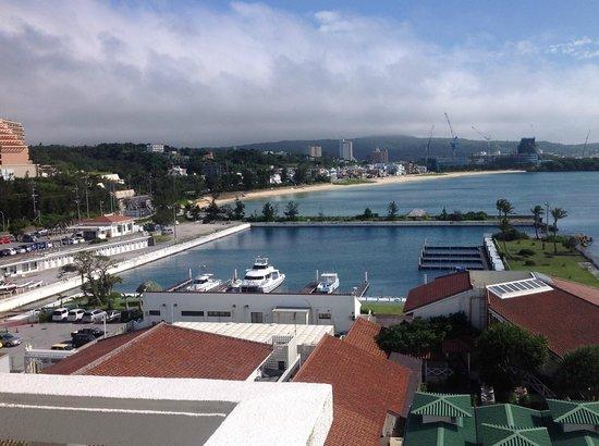 Sheraton Okinawa Sunmarina Resort: サンマリーナのホテルルームから眺め