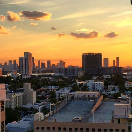 Loews Miami Beach Hotel: View from room 1249