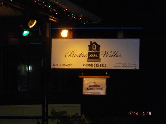 Willis Wellington Hotel: Bristro in Willis( down the road)
