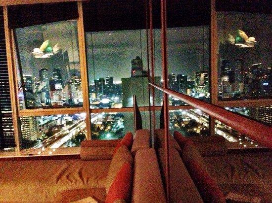 TheRiverSideBangkok Elegant Apartments: View from The livingroom in Jasmin Apartment
