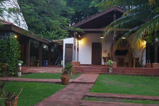 Guest House Puerto Iguazu: Outdoor dining area