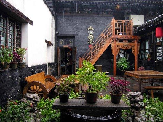 Tian Yuan Kui Hostel: Courtyard