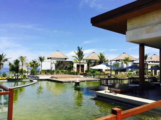 Samabe Bali Suites & Villas : View from reception