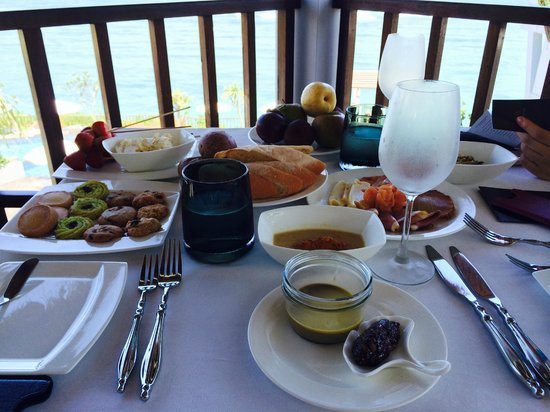 Samabe Bali Suites & Villas : Complimentary lunch picnic
