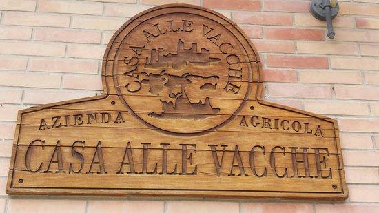 Agriturismo Casa alle Vacche: Entrata ristorante/reception