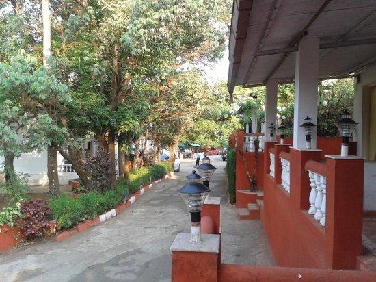 Hotel Shree Paradise: Sitting Area