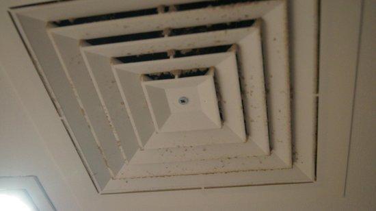 Oaks Embassy Apartment Hotel: Exhaust fan in bathroom