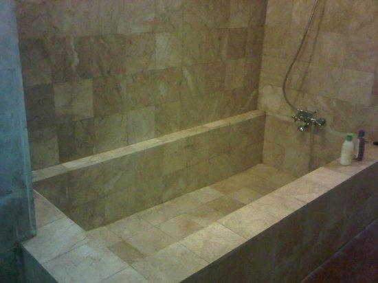 Imah Seniman Bak Mandi Besar Yang Dianggap Bathtub Oleh Pihak Hotel