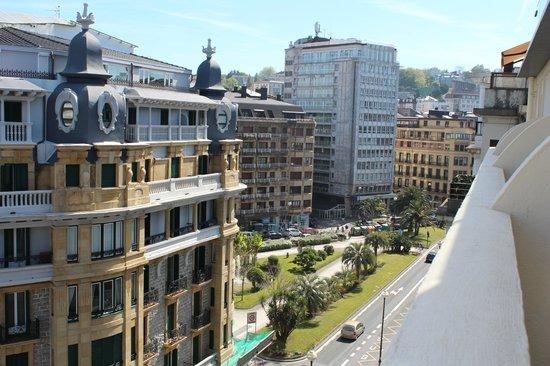 vistas desde el balcon picture of hotel de londres y de