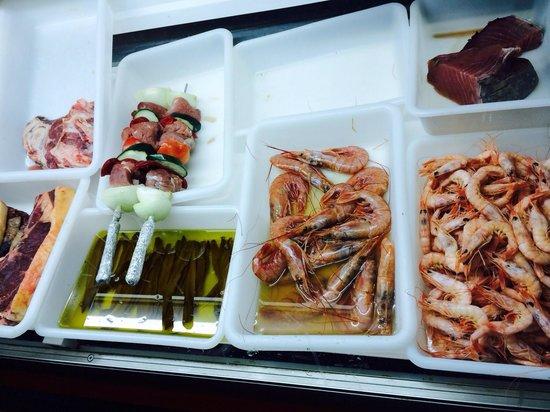 Asador Inaki: Puedes ver lo que cocinan