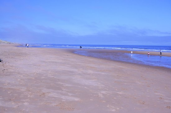 Balmedie Beach: Peaceful and good weather
