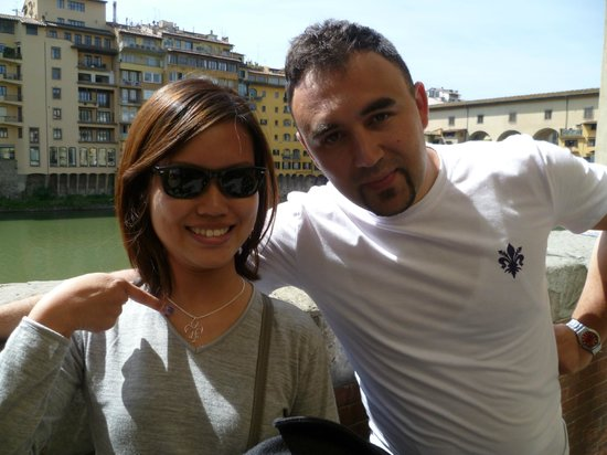 Ponte Vecchio: The guy that makes the best customized accessories!