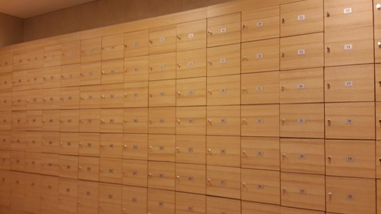 Novotel Seoul Ambassador Gangnam: Lockers for gym use only