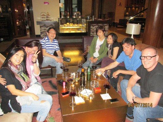 Crowne Plaza Huangshan Yucheng: 1st floor lounge