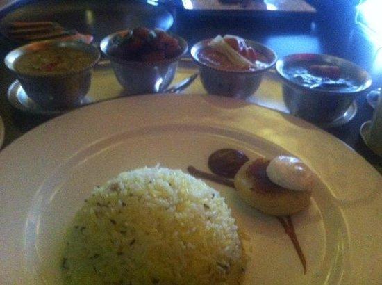 Ananda Restaurant: Veg thali