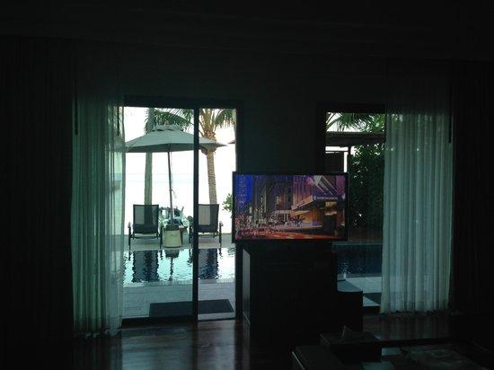 InterContinental Samui Baan Taling Ngam Resort : View from Ocean view villa