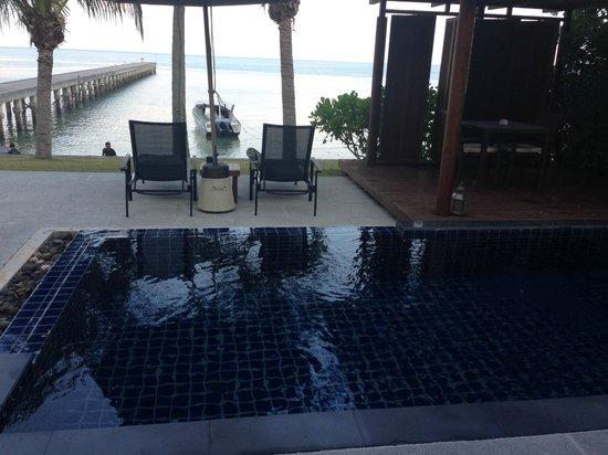 InterContinental Samui Baan Taling Ngam Resort : Villa - plunge pool
