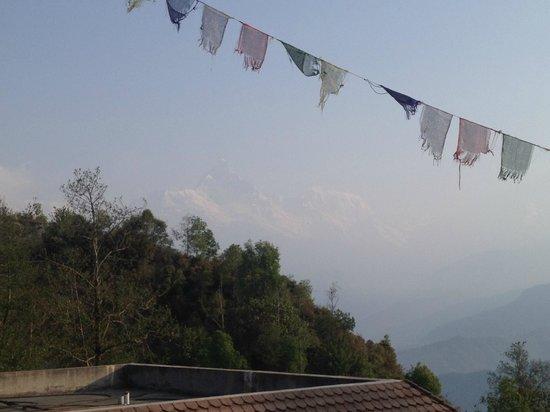 Sherpa Resort: view from restaurant