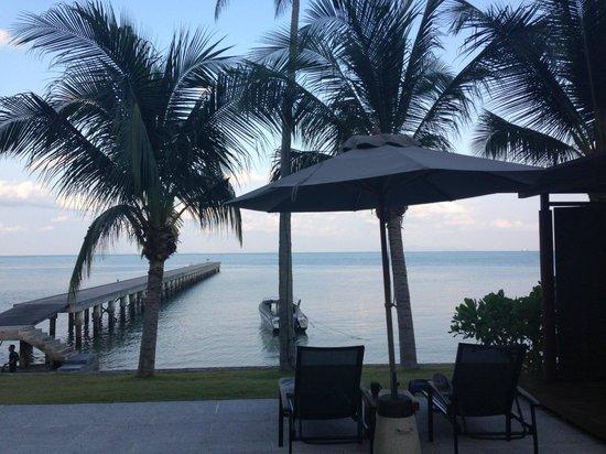 InterContinental Samui Baan Taling Ngam Resort : view from villa