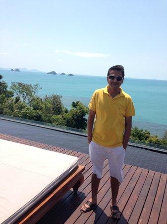 InterContinental Samui Baan Taling Ngam Resort: Me