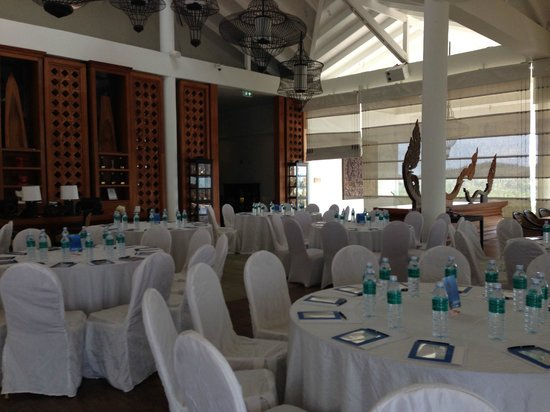 InterContinental Samui Baan Taling Ngam Resort : Part of Lobby converted as conference venue