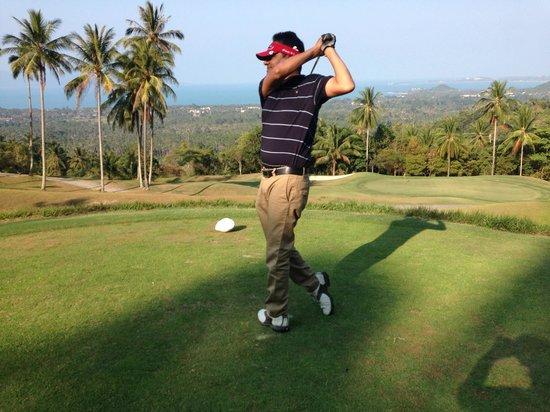 InterContinental Samui Baan Taling Ngam Resort: Golf at Santiburi Golf Course