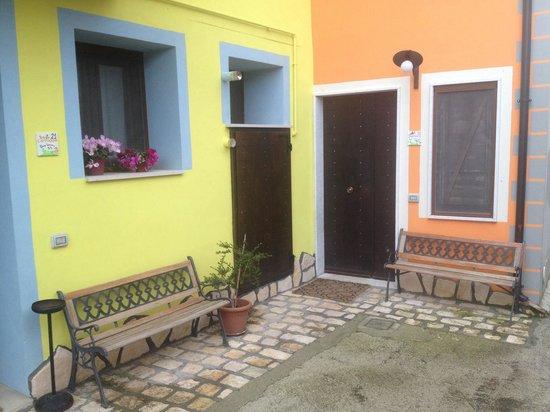 Borgo Lamurese: Le stanze