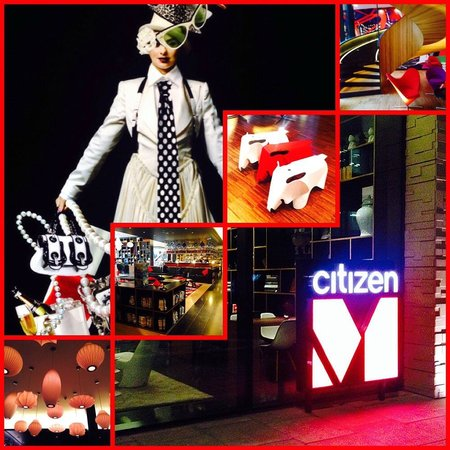 citizenM London Bankside : Montage of images
