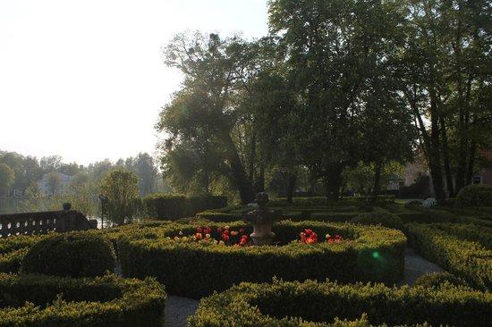 Hotel Schloss Leopoldskron: Veranda gardens