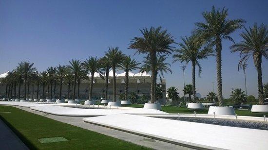Yas Viceroy Abu Dhabi : Территория отеля