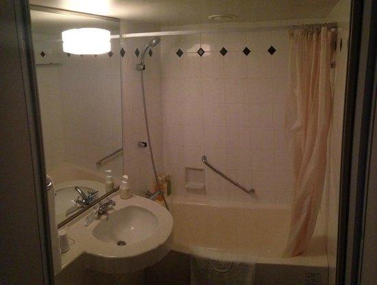 Hotel Villa Fontaine Tokyo-Shiodome: Bathroom