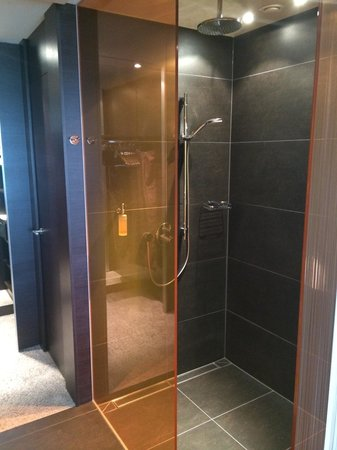 Atrium Hotel Mainz: Shower