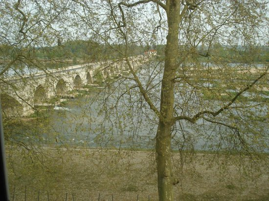 Le Grand Hotel de l'Abbaye : View of the Loire river from our room.