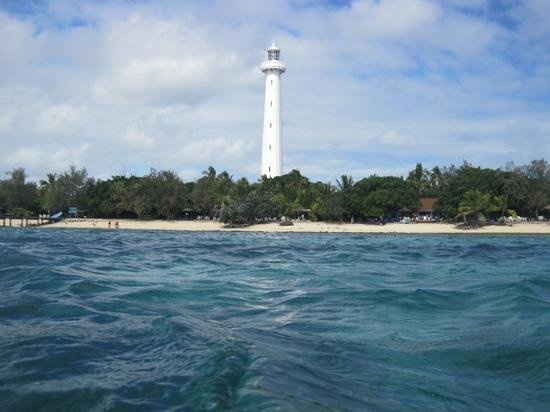 Amedee Lighthouse Island: a view of the lighthouse - from the water :)