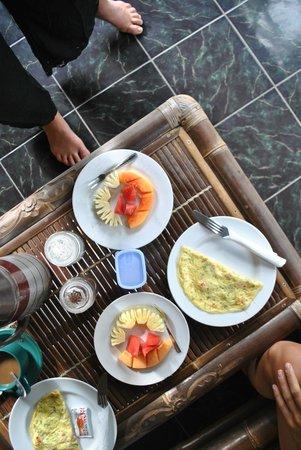 Teba House Ubud Guest House: Breakfast