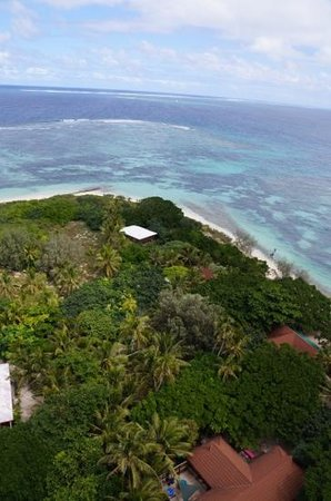 Amedee Lighthouse Island: lighthouse views