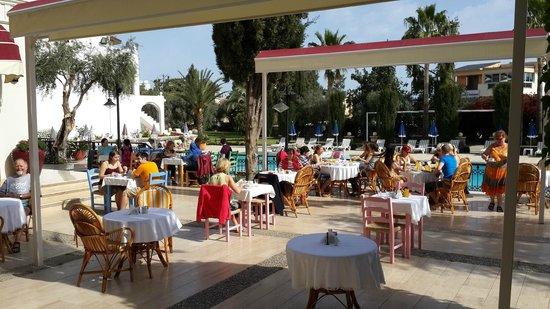 Altinkaya Holiday Resort: Breakfast Area