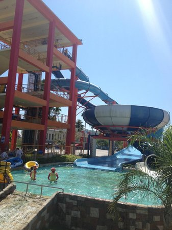 Grand West Sands Resort & Villas Phuket: A big slide
