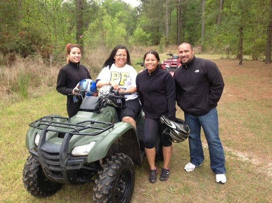 Carolinabackwoods ATV Tours: Now I want to buy an ATV after this ride! :-)