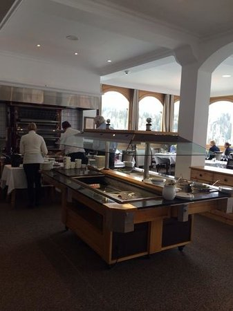Hotel Waldhaus Am See: zona colazione