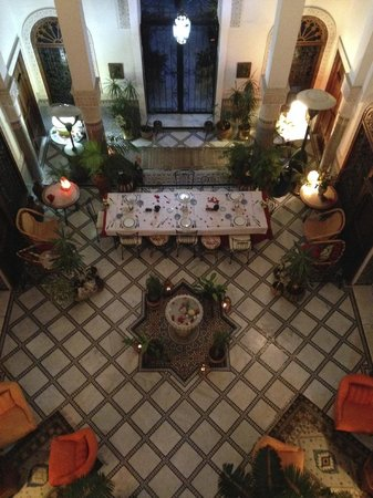 Riad Norma: Dining area