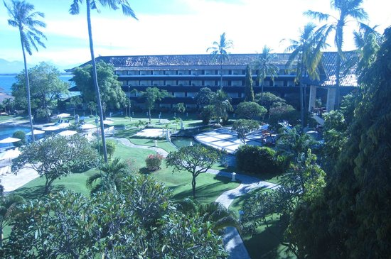 Discovery Kartika Plaza Hotel: view from balcony