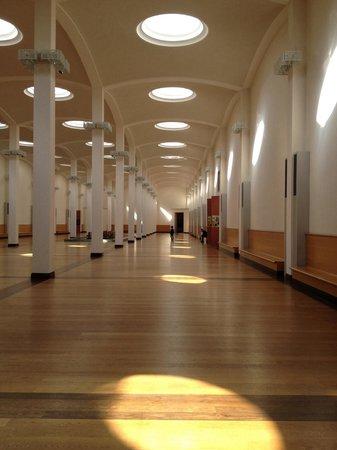 Gemäldegalerie: il corridoio